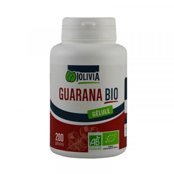 Jolivia - Guarana Bio - 200 gélules végétales de 300 mg