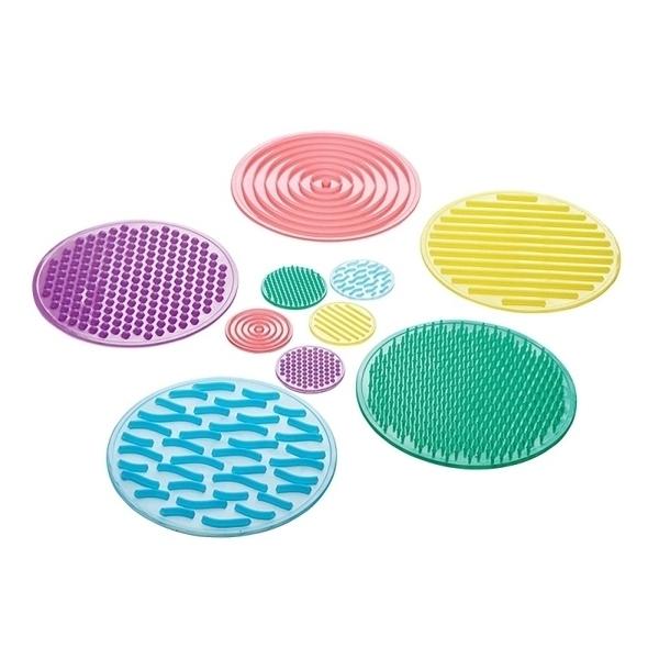 Eduplay - Disques tactiles lot n°2