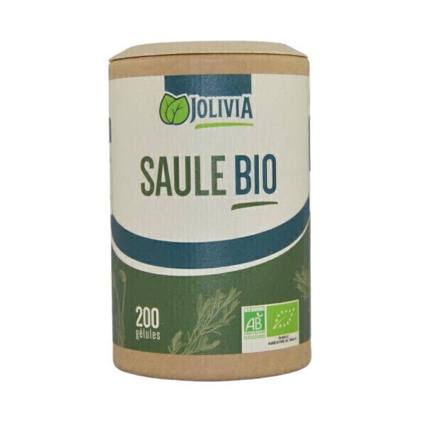Jolivia - Saule Blanc Bio - 200 gélules végétales de 200 mg