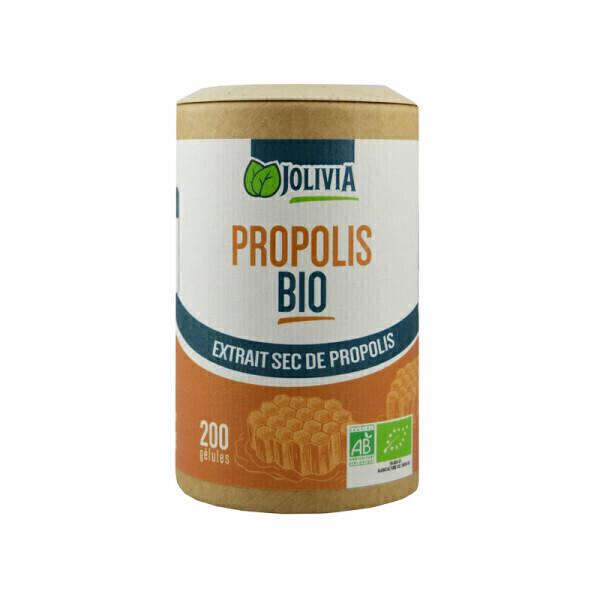 Jolivia - Propolis Bio Extrait - 200 gélules végétales 250 mg