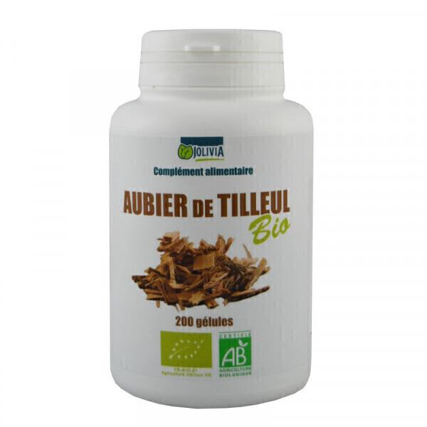 Jolivia - Aubier de Tilleul Bio - 200 gélules végétales de 250 mg