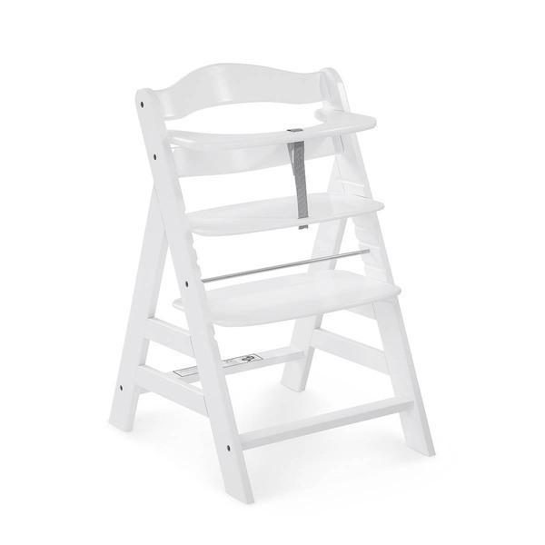 Hauck - Chaise Haute Alpha+ - White