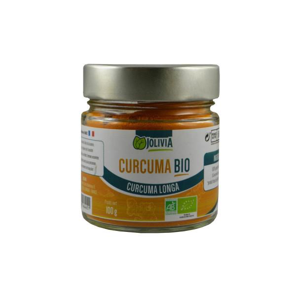 Jolivia - Curcuma Longa Bio en Poudre - 100 g