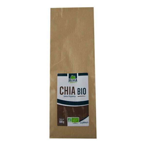 Jolivia - Graines de Chia Bio - 500 g