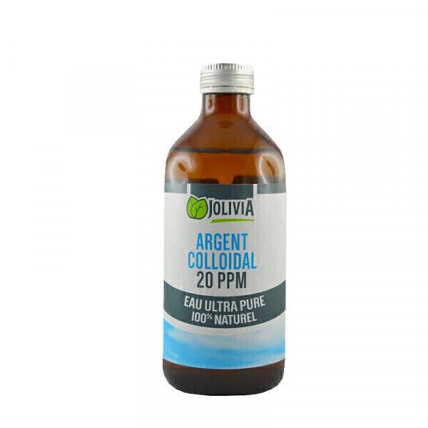 Jolivia - Argent Colloïdal 20 ppm - 500 ml