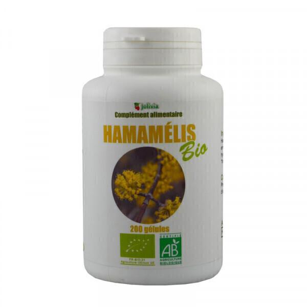 Jolivia - Hamamélis Bio - 200 gélules végétales de 200 mg