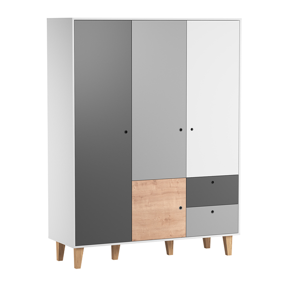 Vox - Armoire 3 portes Concept - Bois