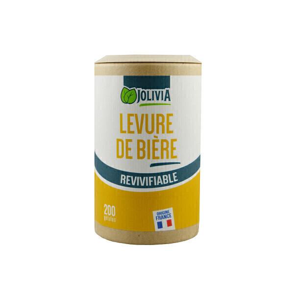 Jolivia - Levure de Bière revivifiable - 200 gélules végétales de 320 mg