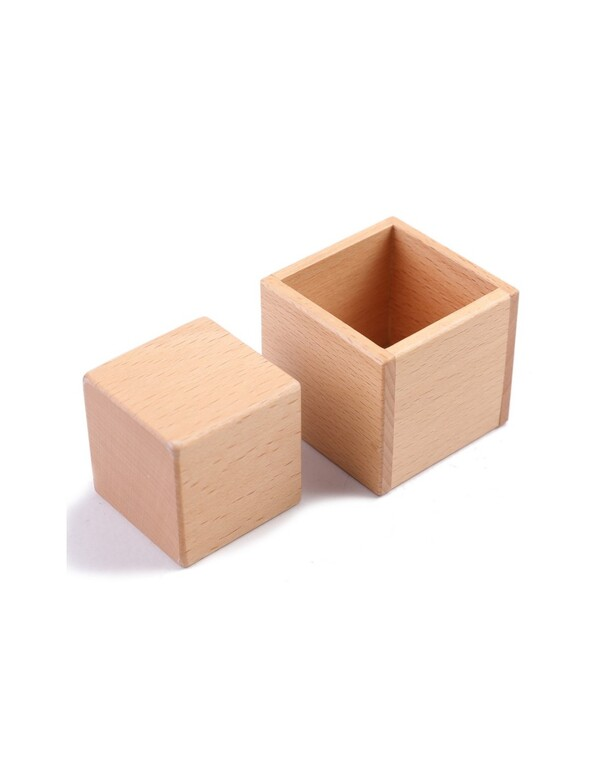 MontessoriSamuserAutrement - Boîte et cube