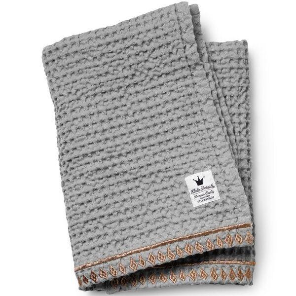 Elodie Détails - Couverture coton gaufré - Gilded Grey - Elodie Details