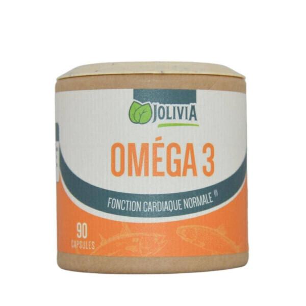 Jolivia - Oméga 3 - 90 capsules de 500 mg
