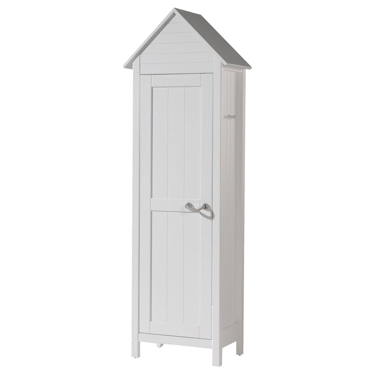 Vipack - Armoire 1 porte BeachHouse Lewis - Blanc