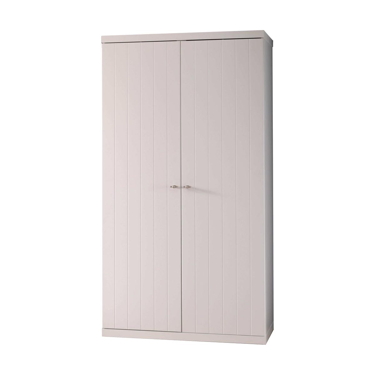 Vipack - Armoire 2 portes Robin - Blanc