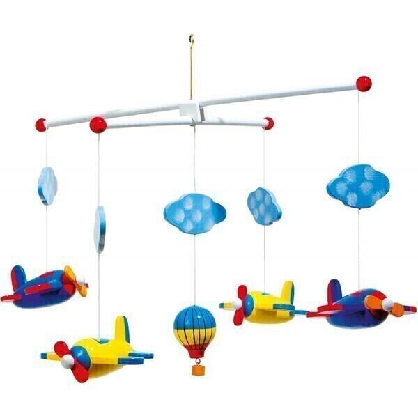 Small Foot - Le mobiles des avions pour bébé