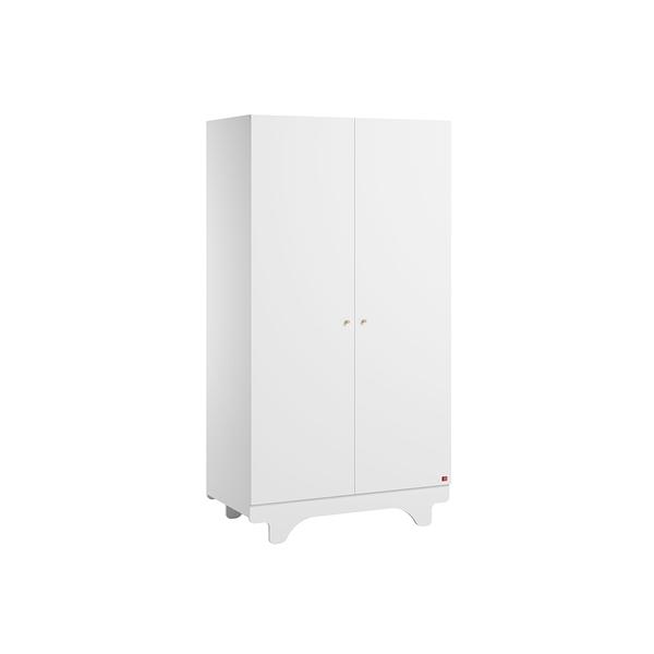 Vox - Armoire 2 portes Playwood - Blanc