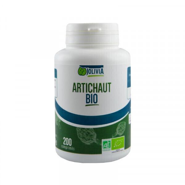 Jolivia - Artichaut Bio - 200 comprimés de 400 mg