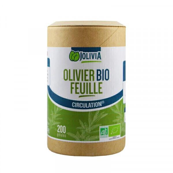 Jolivia - Olivier feuille Bio - 200 gélules végétales de 200 mg