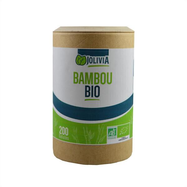 Jolivia - Bambou Tabashir Bio - 200 gélules de 250 mg