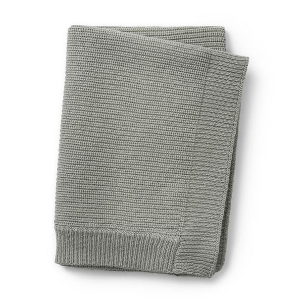 Elodie Détails - Couverture tricot en laine