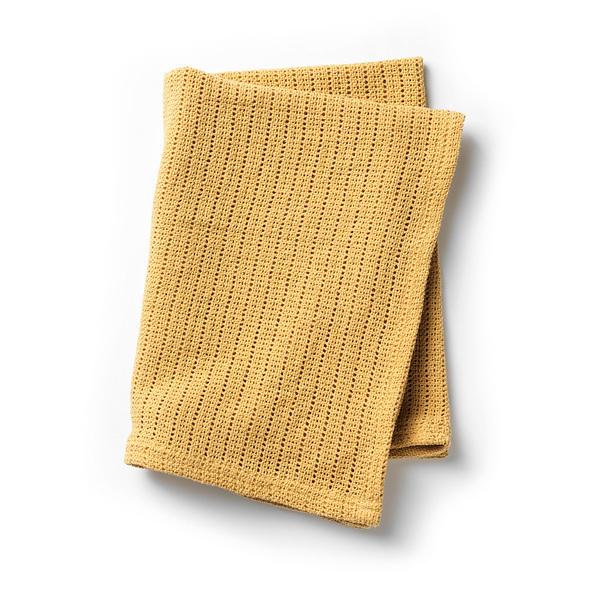 Elodie Détails - Couverture coton ajouré Gold