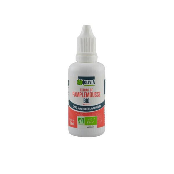 Jolivia - Extrait de Pamplemousse Bio 1200 mg - 50 ml
