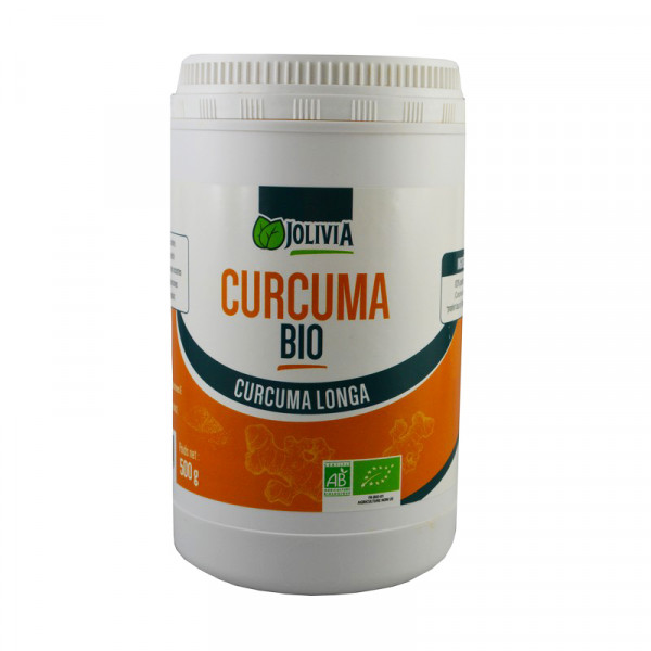 Jolivia - Curcuma Longa Bio en Poudre - 500 g