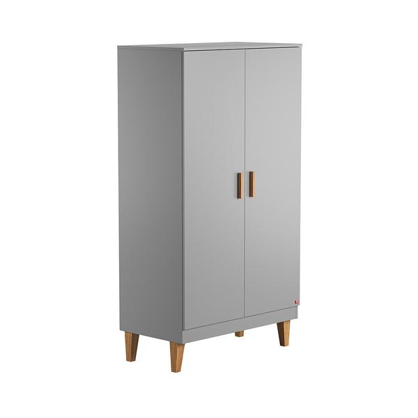 Vox - Armoire 2 portes Lounge - Gris