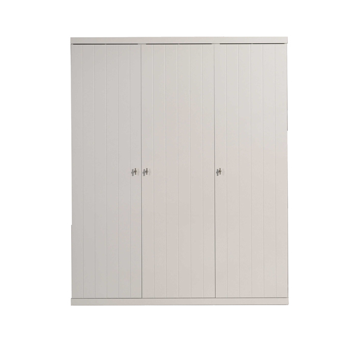 Vipack - Armoire 3 portes Robin - Blanc
