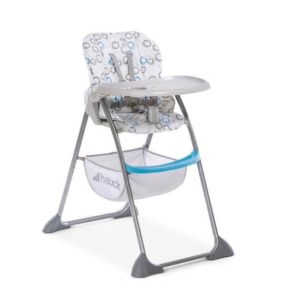 Hauck - Chaise Haute Sit'nFold - Circles blue