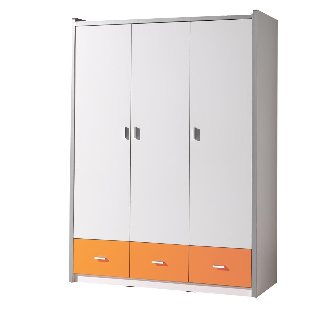 Vipack - Armoire 3 portes Bonny - Orange