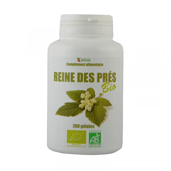 Jolivia - Reine des prés Bio - 200 gélules végétales de 215 mg