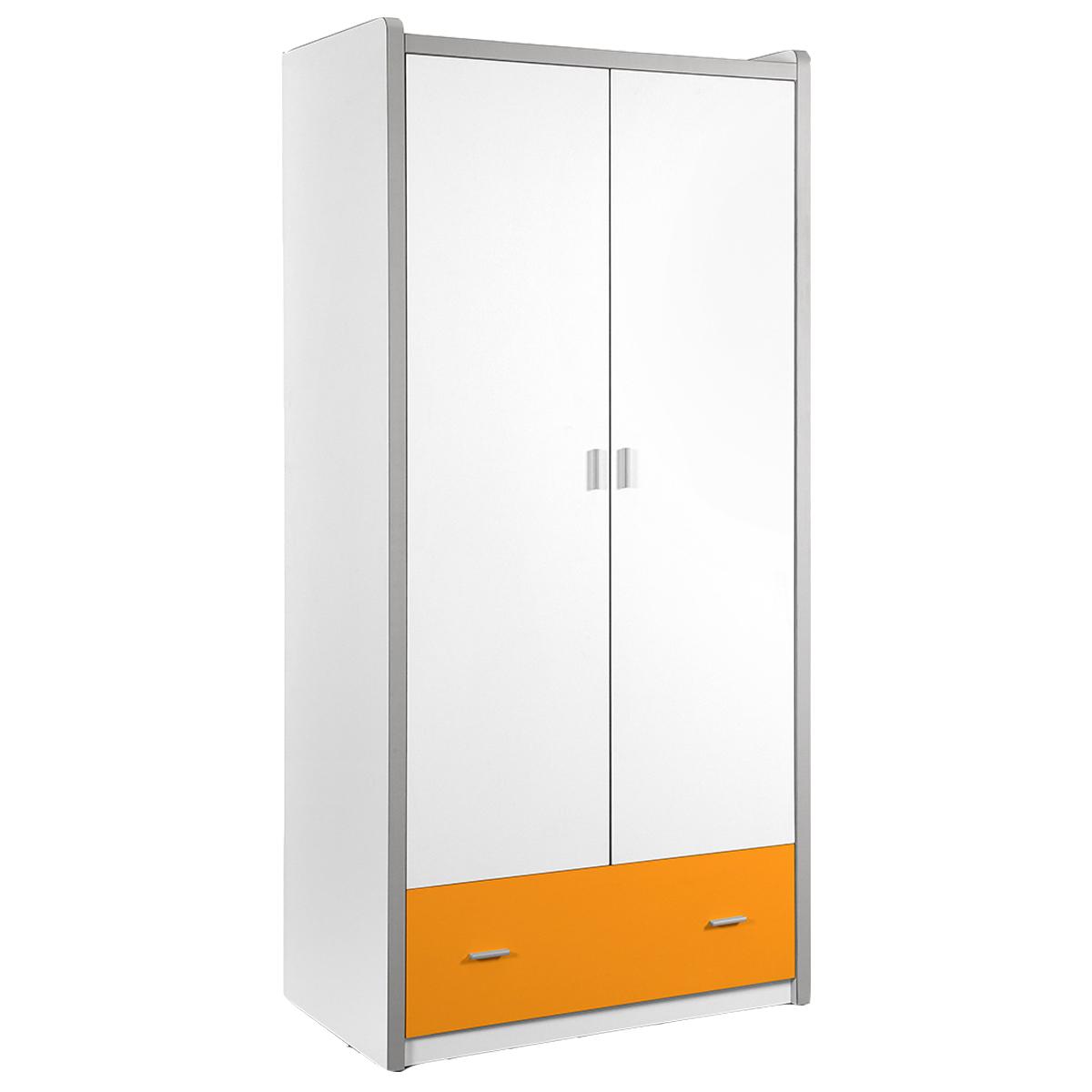 Vipack - Armoire 2 portes Bonny - Orange