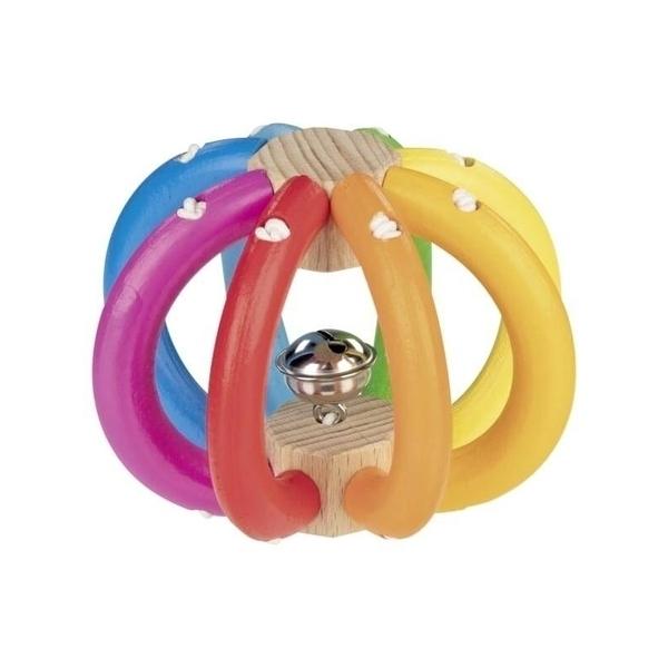 Goki - Hochet boule arc en ciel