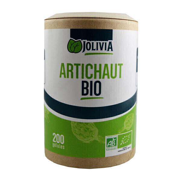 Jolivia - Artichaut Bio - 200 gélules végétales de 200 mg