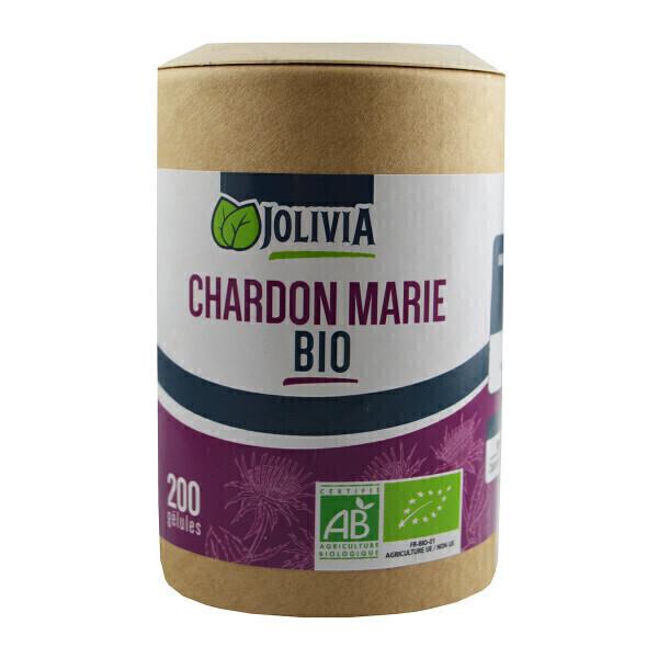 Jolivia - Chardon Marie Bio - 200 gélules végétales de 300 mg