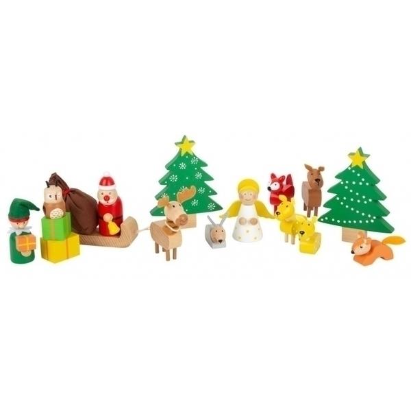 Legler - Set de figurines de Noel