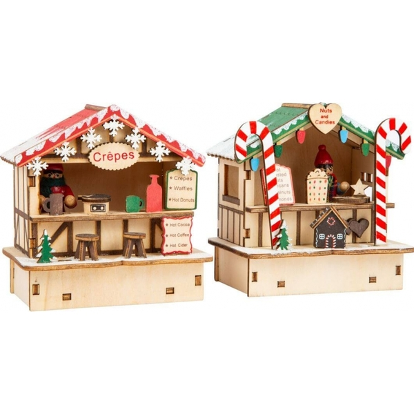Legler - Lampes Cabanes de Noel