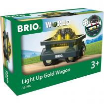 Brio - 33896 Wagon lumineux charge d or