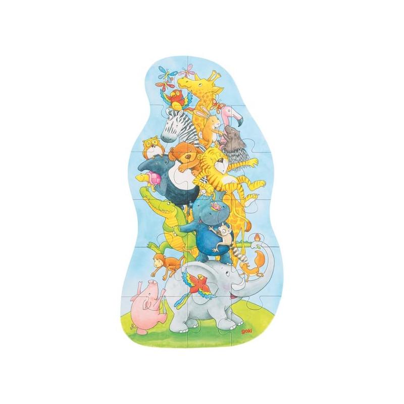 Goki - Puzzle enfant 3 ans