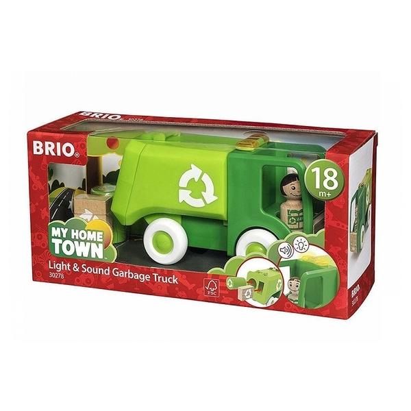 Brio - 30278 Camion poubelle son et lumiere