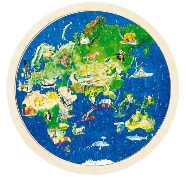 Goki - Puzzle du monde réversible