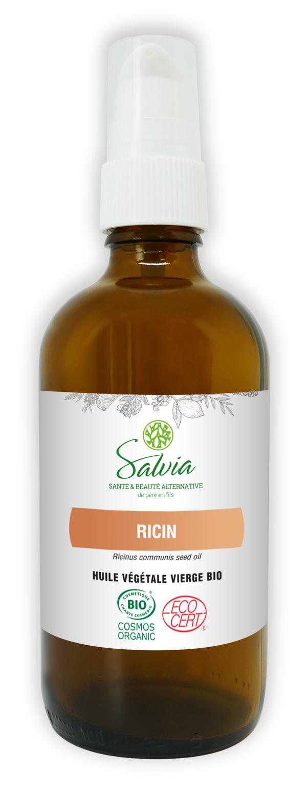 Salvia - Huile végétale de Ricin bio*** - 100mL