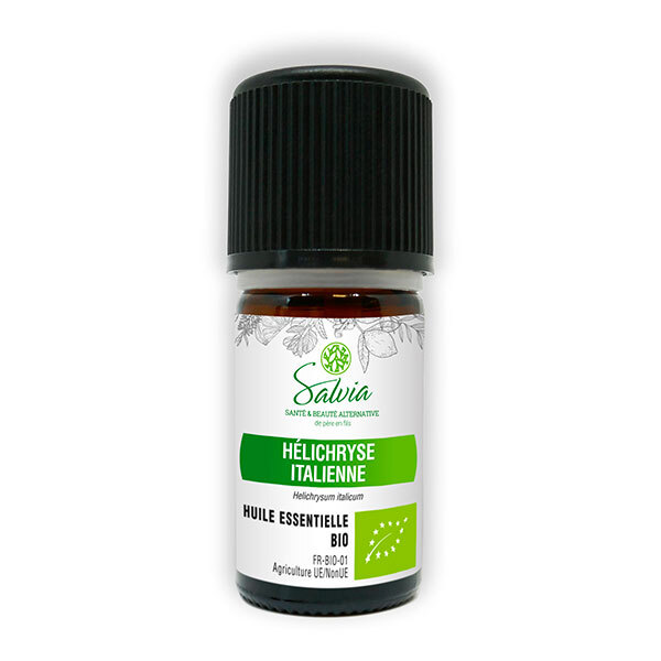 Salvia - Hélichryse italienne - huile essentielle bio* - 5mL