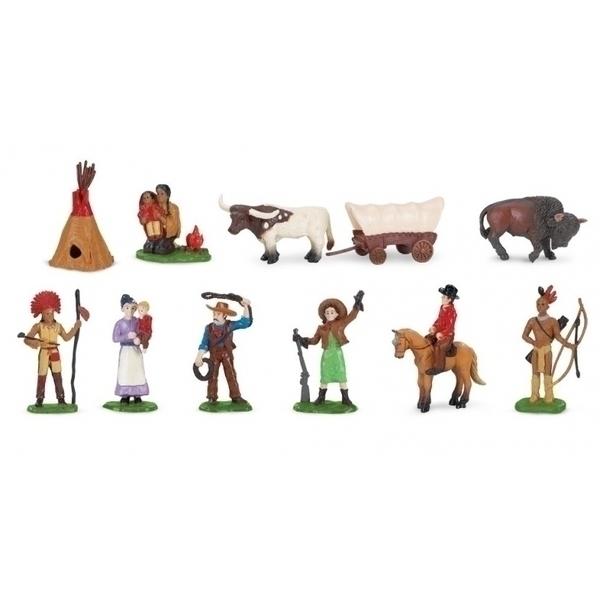 Safari - Figurines Ouest américain