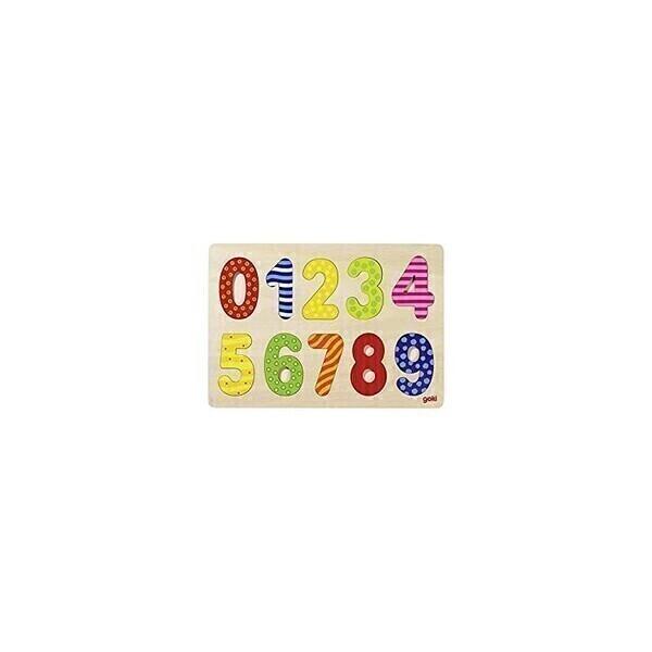Goki - Le Puzzle des chiffres-à-motifs