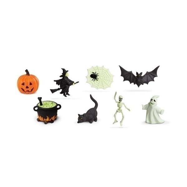Safari - 8 figurines Halloween brillants dans le noir