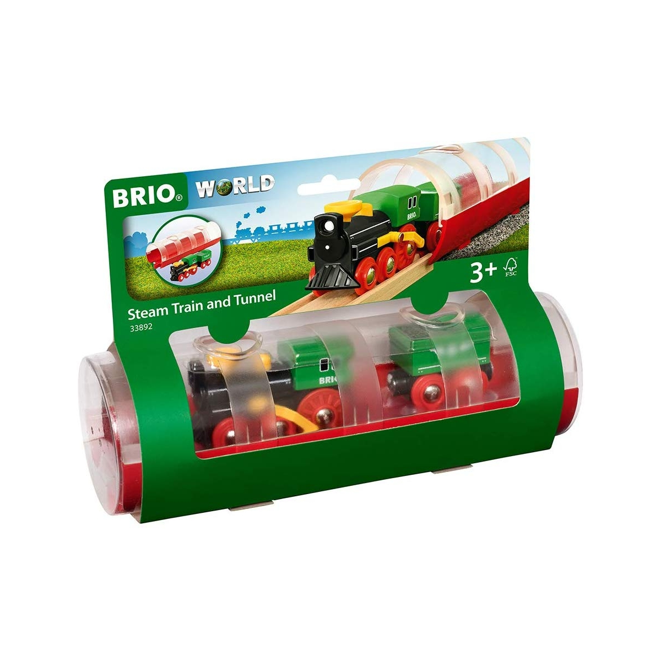 Brio - 33892 Train a vapeur et tunnel