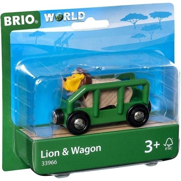 Brio - 33966 Wagon et lion