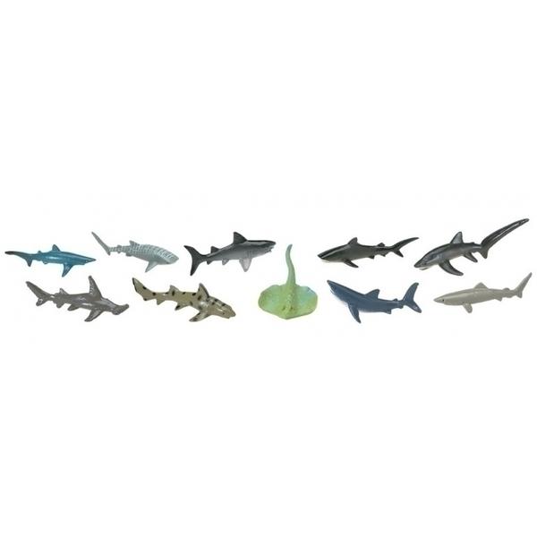 Safari - 10 figurines Requins