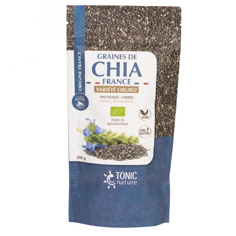 Tonic Nature - Graine de Chia 200 gr